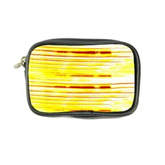Yellow Curves Background Coin Purse