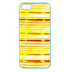 Yellow Curves Background Apple Seamless iPhone 5 Case (Color)