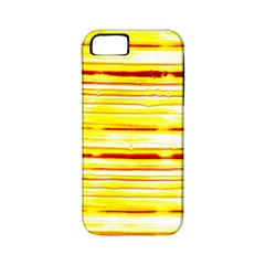 Yellow Curves Background Apple iPhone 5 Classic Hardshell Case (PC+Silicone)