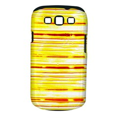 Yellow Curves Background Samsung Galaxy S III Classic Hardshell Case (PC+Silicone)