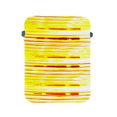 Yellow Curves Background Apple Ipad 2/3/4 Protective Soft Cases