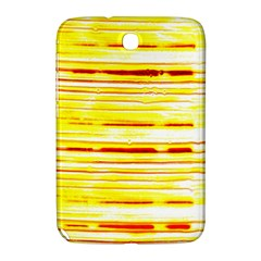 Yellow Curves Background Samsung Galaxy Note 8.0 N5100 Hardshell Case