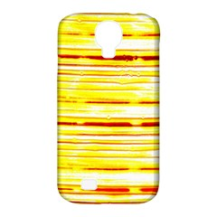Yellow Curves Background Samsung Galaxy S4 Classic Hardshell Case (PC+Silicone)