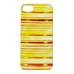 Yellow Curves Background Apple Iphone 5s/ Se Hardshell Case