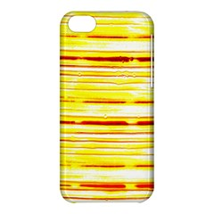 Yellow Curves Background Apple iPhone 5C Hardshell Case