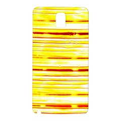 Yellow Curves Background Samsung Galaxy Note 3 N9005 Hardshell Back Case