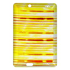 Yellow Curves Background Amazon Kindle Fire HD (2013) Hardshell Case