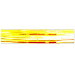 Yellow Curves Background Flano Scarf (Large)