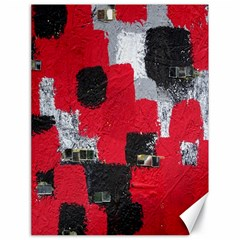 Red Black Gray Background Canvas 18  X 24