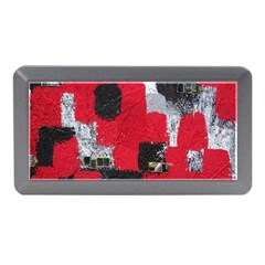 Red Black Gray Background Memory Card Reader (Mini)