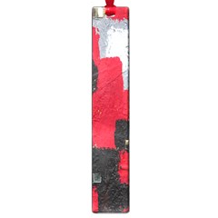 Red Black Gray Background Large Book Marks
