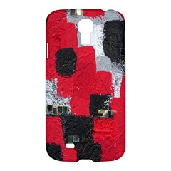 Red Black Gray Background Samsung Galaxy S4 I9500/I9505 Hardshell Case