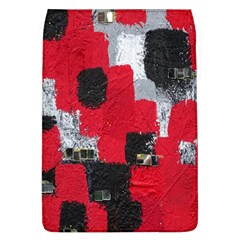 Red Black Gray Background Flap Covers (L)