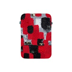 Red Black Gray Background Apple iPad Mini Protective Soft Cases