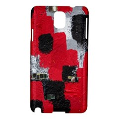 Red Black Gray Background Samsung Galaxy Note 3 N9005 Hardshell Case