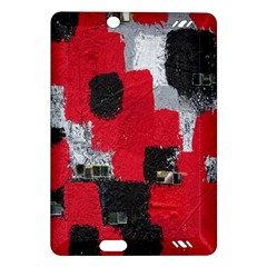 Red Black Gray Background Amazon Kindle Fire HD (2013) Hardshell Case