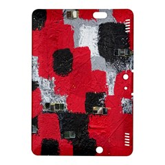 Red Black Gray Background Kindle Fire HDX 8.9  Hardshell Case