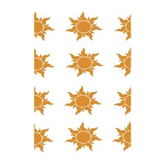 Sun Cupcake Toppers Sunlight Shower Curtain 48  X 72  (small)