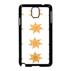 Sun Cupcake Toppers Sunlight Samsung Galaxy Note 3 Neo Hardshell Case (Black)