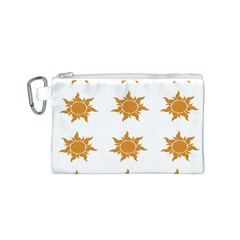 Sun Cupcake Toppers Sunlight Canvas Cosmetic Bag (S)