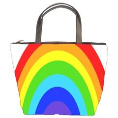 Rainbow Bucket Bags
