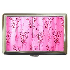 Pink Curtains Background Cigarette Money Cases