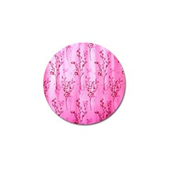 Pink Curtains Background Golf Ball Marker (10 pack)