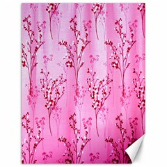 Pink Curtains Background Canvas 12  X 16