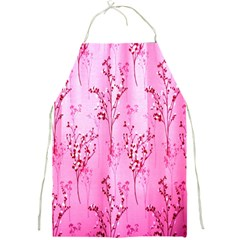 Pink Curtains Background Full Print Aprons