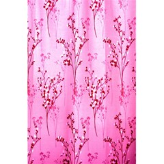 Pink Curtains Background 5 5  X 8 5  Notebooks