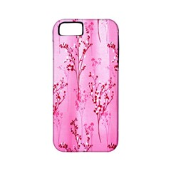 Pink Curtains Background Apple iPhone 5 Classic Hardshell Case (PC+Silicone)