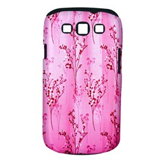 Pink Curtains Background Samsung Galaxy S III Classic Hardshell Case (PC+Silicone)