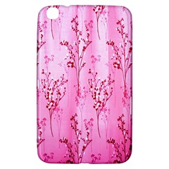 Pink Curtains Background Samsung Galaxy Tab 3 (8 ) T3100 Hardshell Case