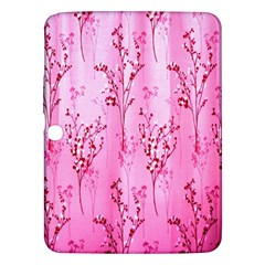 Pink Curtains Background Samsung Galaxy Tab 3 (10.1 ) P5200 Hardshell Case