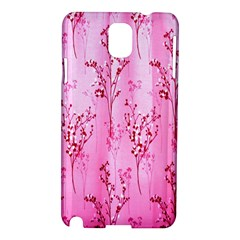 Pink Curtains Background Samsung Galaxy Note 3 N9005 Hardshell Case