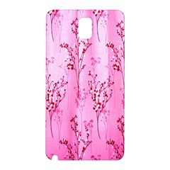 Pink Curtains Background Samsung Galaxy Note 3 N9005 Hardshell Back Case