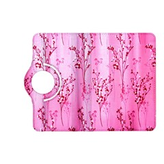 Pink Curtains Background Kindle Fire HD (2013) Flip 360 Case