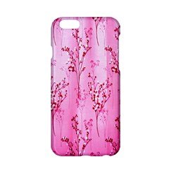 Pink Curtains Background Apple iPhone 6/6S Hardshell Case