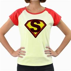 Super Women Women s Cap Sleeve T Shirt (colored)