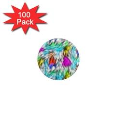 Fur Fabric 1  Mini Magnets (100 Pack)