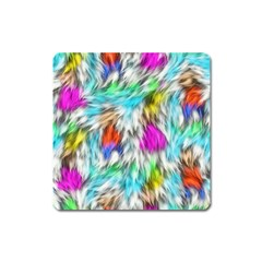 Fur Fabric Square Magnet