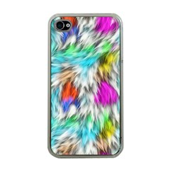 Fur Fabric Apple iPhone 4 Case (Clear)