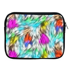 Fur Fabric Apple iPad 2/3/4 Zipper Cases