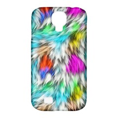 Fur Fabric Samsung Galaxy S4 Classic Hardshell Case (PC+Silicone)