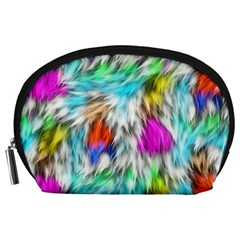 Fur Fabric Accessory Pouches (Large)