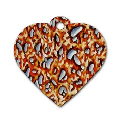 Pebble Painting Dog Tag Heart (Two Sides)