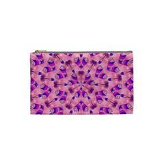 Mandala Tiling Cosmetic Bag (small)