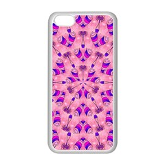 Mandala Tiling Apple Iphone 5c Seamless Case (white)