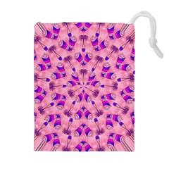 Mandala Tiling Drawstring Pouches (Extra Large)