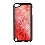 Pink Fur Background Apple iPod Touch 5 Case (Black) Front